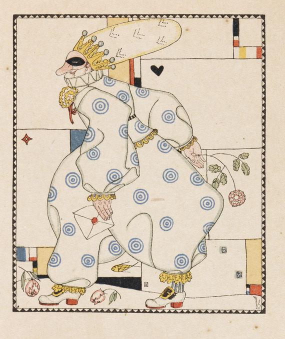 Berthold Löffler - H. Chr. Andersen, Zwölf mit der Post. 1919
