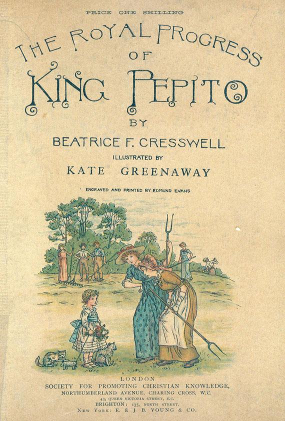 Kate Greenaway - 5 Werke.