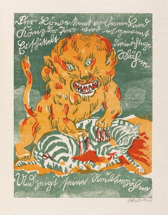 Otto Schubert - Bilder für Tyll und Nele. 1920 - Weitere Abbildung