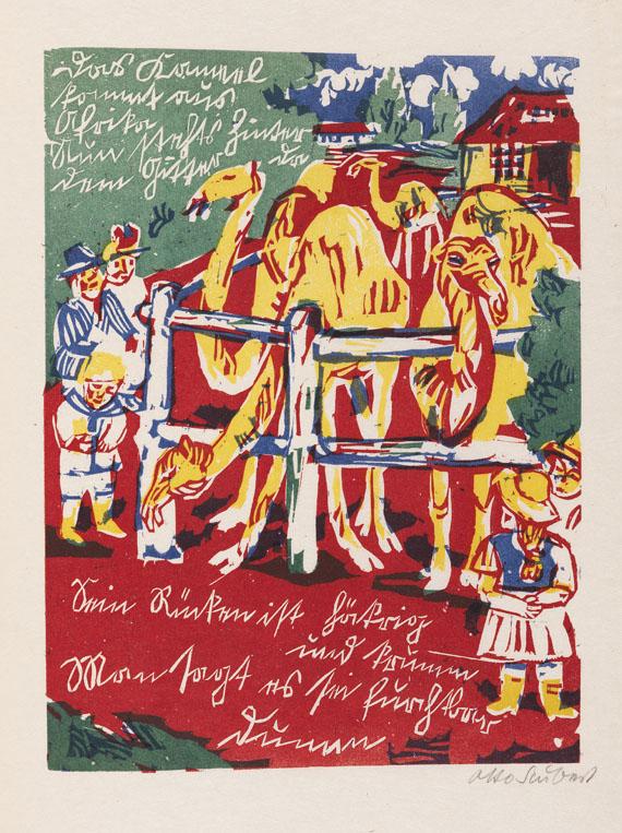 Otto Schubert - Bilder für Tyll und Nele. 1920