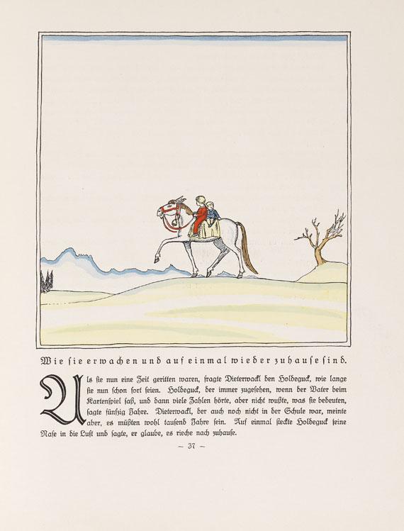 Hans Reiser - Holdeguck und Dieterwackl. Mit Illustr. von B. Goldschmitt. 1921