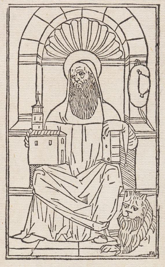 Aurelius Augustinus - Explanantio Psalmorum. 1493.