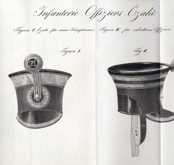 Militaria - Adjustirungs-Vorschrift. 1827.