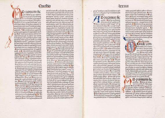 Thomas von Aquin - Summa theologiae. 1478.