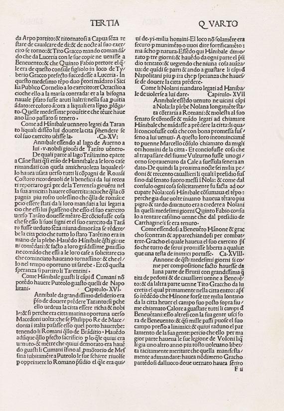 Titus Livius - Historiae Romanae decades. 1481.