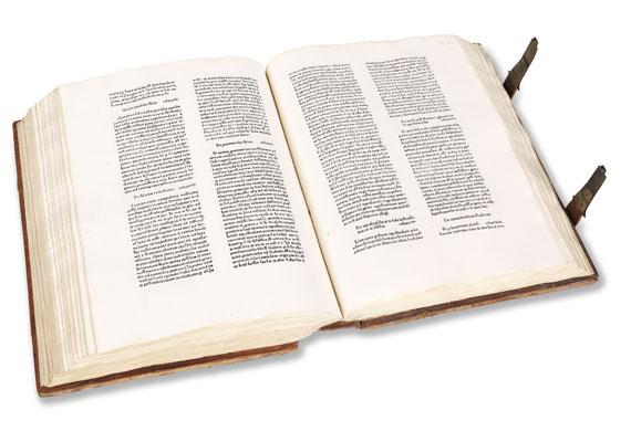 Peter Schöffer - Decisiones Rotae Romanae. 1477. - Weitere Abbildung