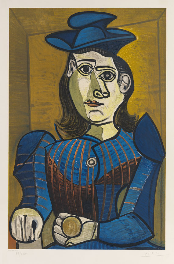 1899fabc76f Pablo Picasso - Femme assise (Dora Maar)