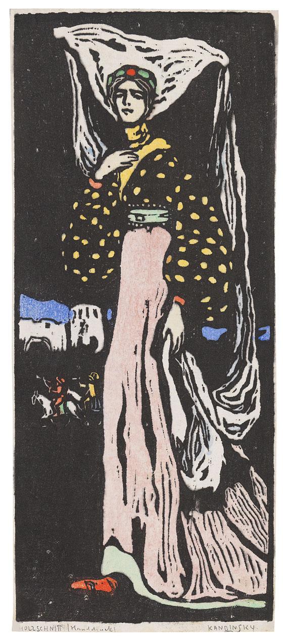 Wassily Kandinsky - Die Nacht - Große Fassung
