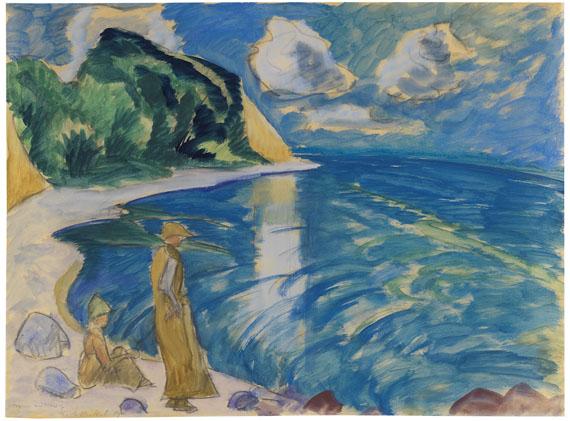 Erich Heckel - Frauen am Meer