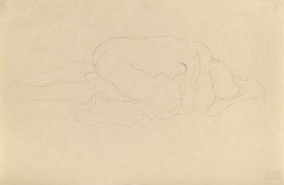 Gustav Klimt - Liebespaar