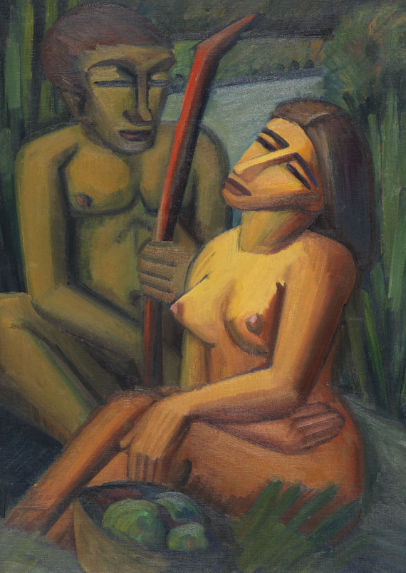 Emil Maetzel - Adam und Eva