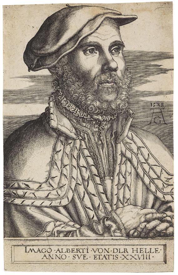Heinrich Aldegrever - Albert van der Helle