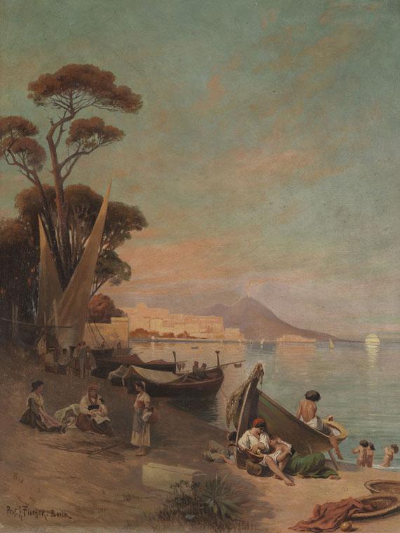 Arthur Fischer - Sommertag am Golf von Neapel