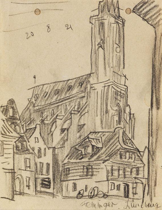 Lyonel Feininger - Lüneburg