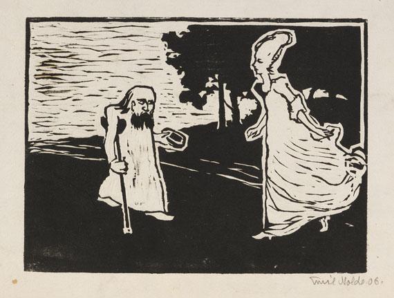 Emil Nolde - Prinzess und Bettler