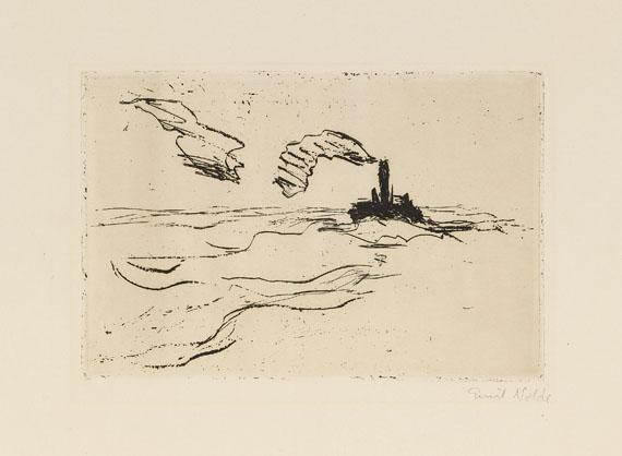 Emil Nolde - Dampfer