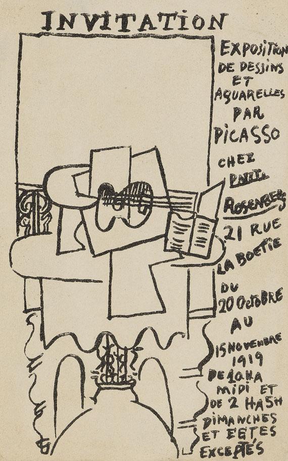 Pablo Picasso - Das Fenster in Saint-Raphael