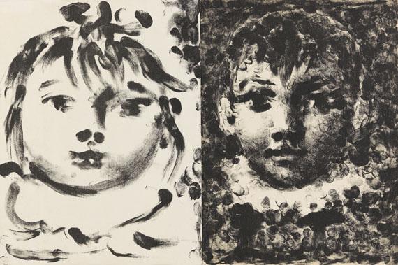 Pablo Picasso - Paloma et Claude