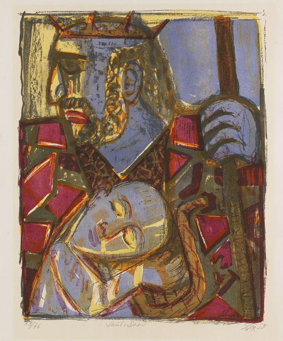Otto Dix - Saul und David