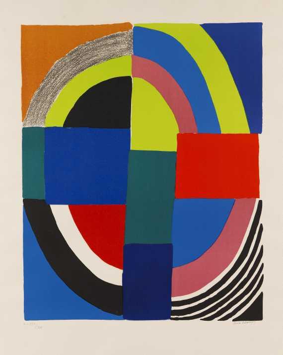 Sonia Delaunay-Terk - Abstrakte Komposition