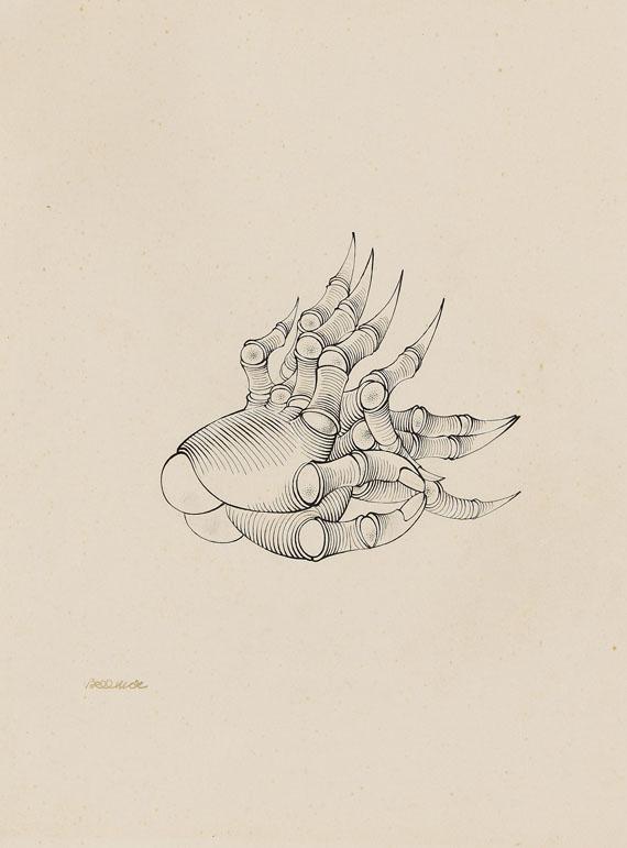 Hans Bellmer - Les Mains de Francoise Luchaire