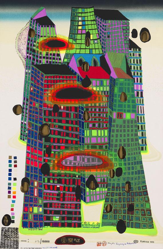 Friedensreich Hundertwasser - Good Morning City (Bleeding Town)