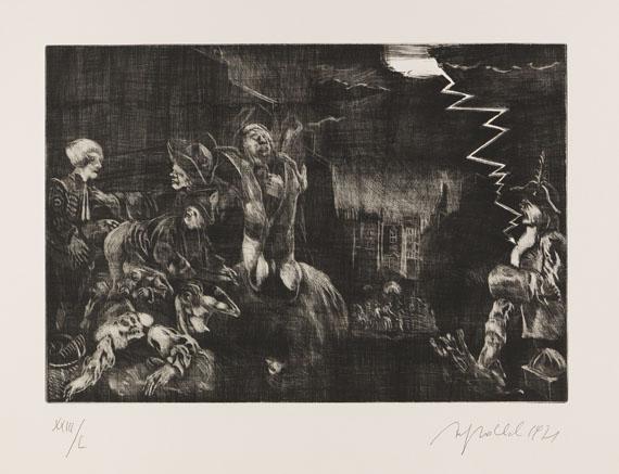Alfred Hrdlicka - The Rake's Progress - Weitere Abbildung