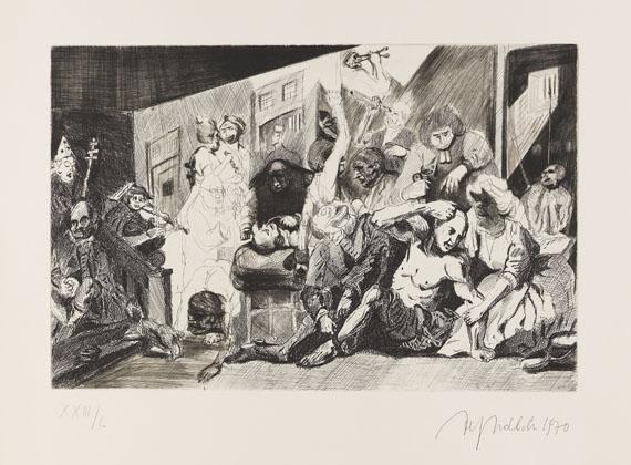 Alfred Hrdlicka - The Rake's Progress