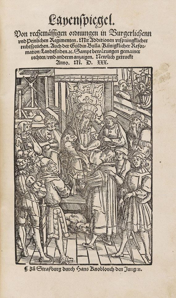 Sebastian Brant - Der richterlich clagspiegel. 1529