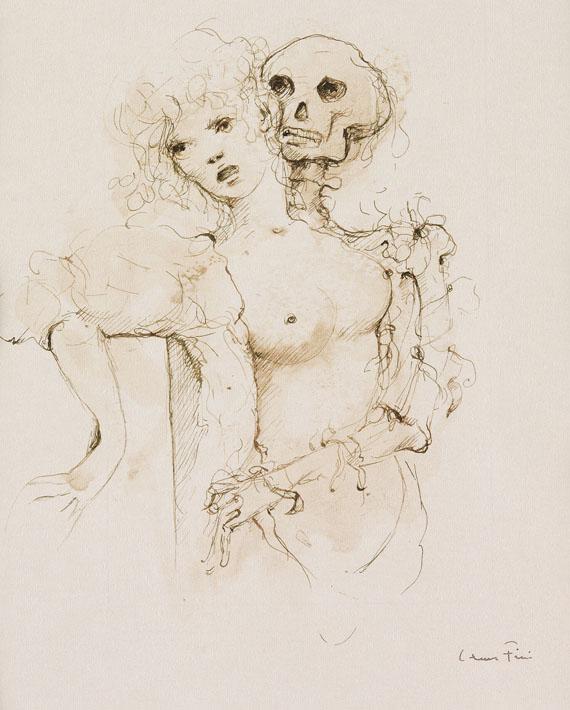 Leonor Fini - Guibbert, Jean Paul: Images de la mort douce. 1974