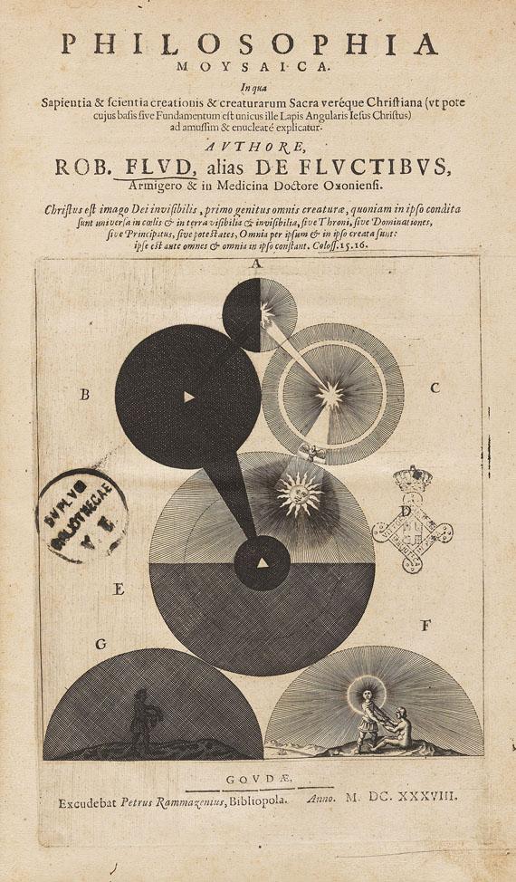 Robert Fludd - Philosophia moysaica. 1638.