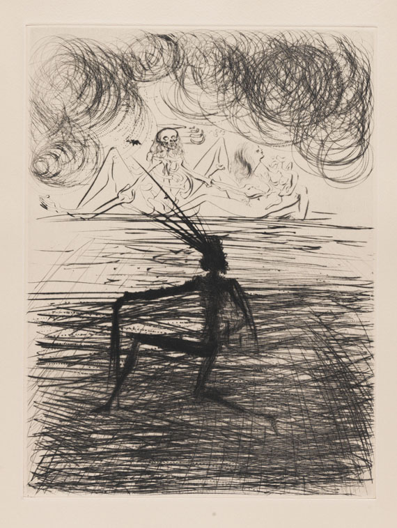 Salvador Dalí - Faust. 1969