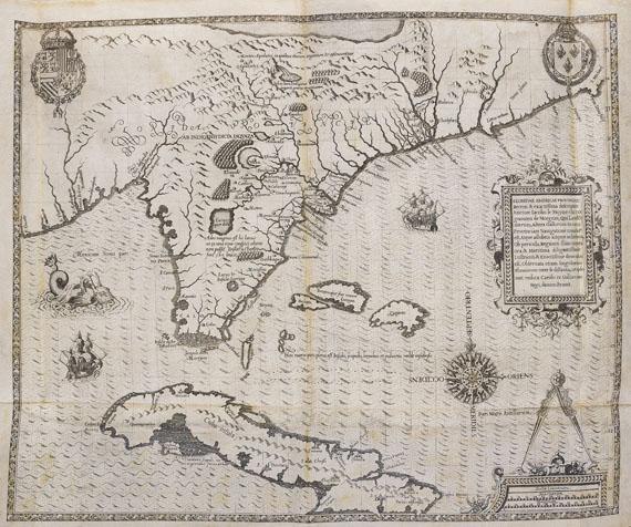 Theodor de Bry - Große Reisen, Teil II. Latein. Ausgabe 1591.