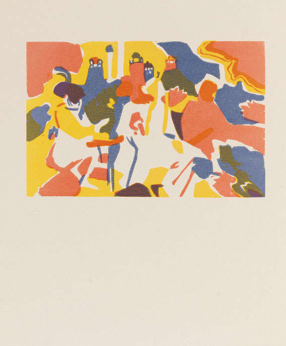 Wassily Kandinsky - Regards sur le passé. 1971