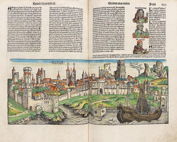 Hartmann Schedel - Liber chronicarum. 1493. - Weitere Abbildung