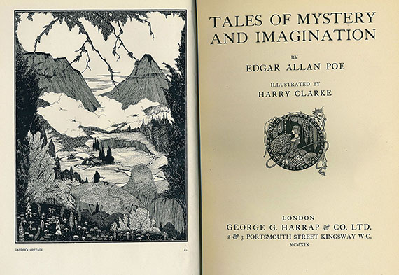 Edgar Allen Poe - Tales of Mystery and Imagination. 1919.