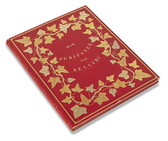 Einbände - Bellini, I Puritani. 1840