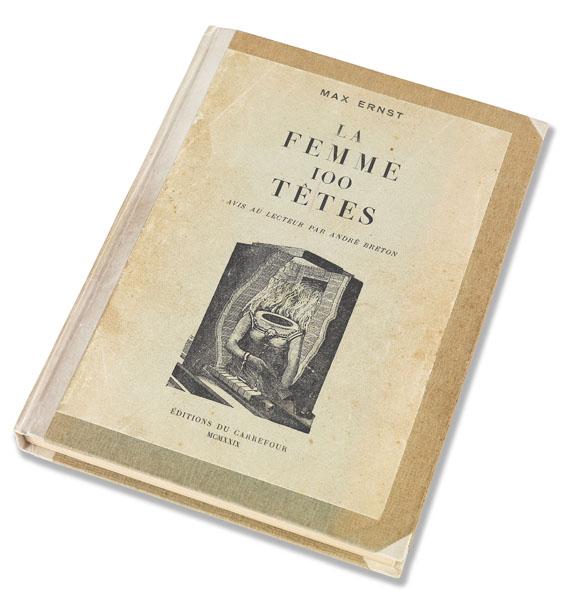 Max Ernst - La femme 100 têtes. Mit Besitzvermerk von O. Hofmann. 1929.