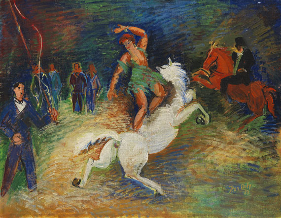 Jean Dufy - L'Écuyere au Cirque Medrano