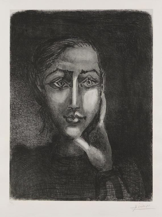 46bdbdd6c3c Pablo Picasso - Fran ccedil oise sur ...