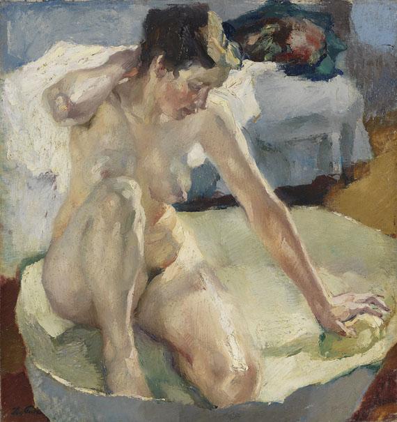 Leo Putz - In der Badewanne II