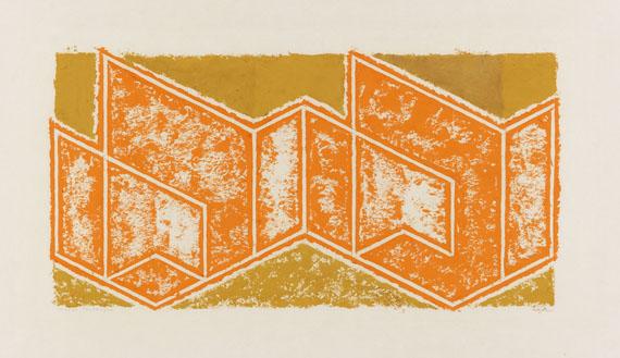 Josef Albers - Study to Tautonym