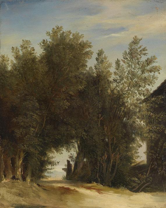 Carl Blechen - Nachfolge - 2 Gemälde: Landschaftstudien - Weitere Abbildung