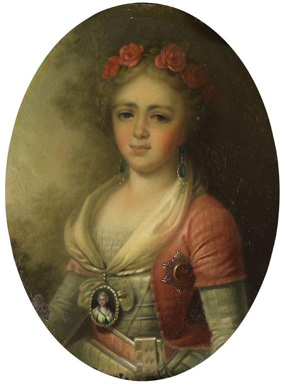 Russland - Porträt einer jungen Adeligen