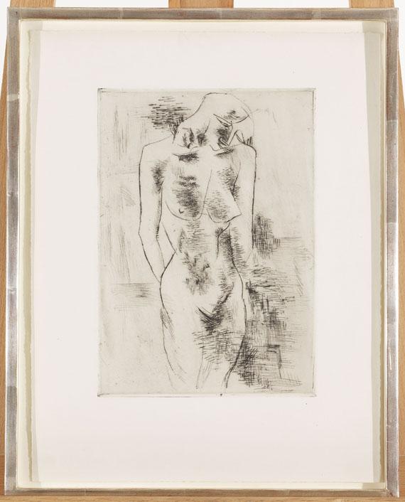 Georges Braque - Etude de Nu (Aktstudie) -