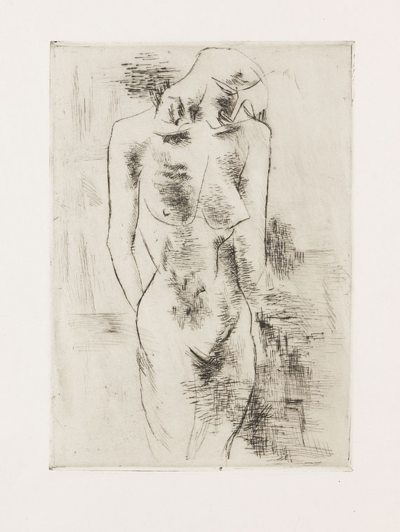 Georges Braque - Etude de Nu (Aktstudie)