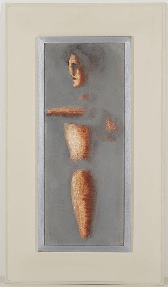Oskar Schlemmer - Figur auf grauem Grund - Weitere Abbildung