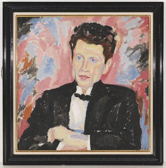 Heinrich Maria Davringhausen - Porträt Mann im Frack - Weitere Abbildung
