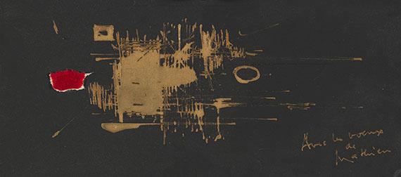 Georges Mathieu - Abstrakte Komposition