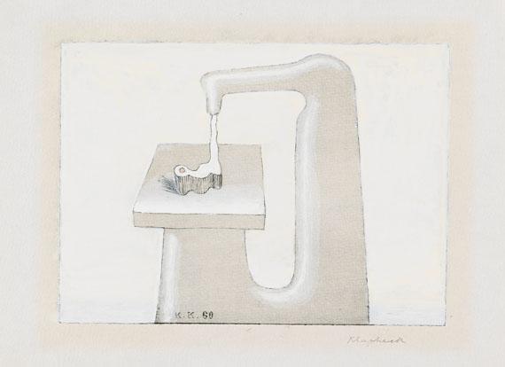 Konrad Klapheck - Phantasiemaschine